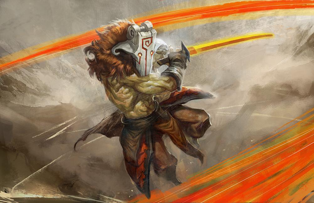 Yurnero the Juggernaut by longai