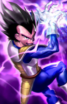 Prince of all Saiyans!
