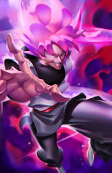 Super Saiyan Rose Goku Black