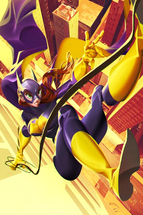 Bat Girl by longai