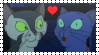 Felidae: FrancisxFelicity Stamp by Lots-of-Stamps