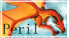 Wings of Fire: Peril Stamp by Lots-of-Stamps