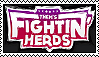 Them's Fightin' Herds Stamp by Lots-of-Stamps