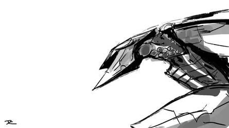 Metal Gear Ray Quick Sketch