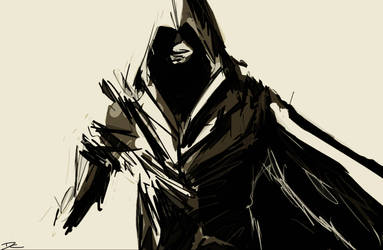 Rough Assassin's Creed Sketch