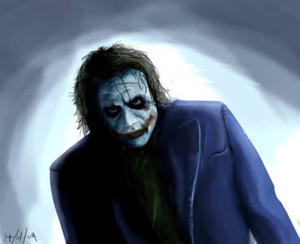 Joker Speed Painting - Photoshop