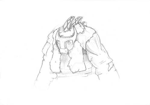 Shadow of the Colossus Sketch
