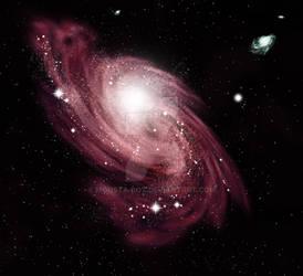 Photoshop Spiral Galaxy