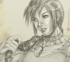 FM Higlack's Kara Portrait by MikazukiArt