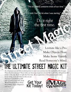 Advertising Work - Street Magic