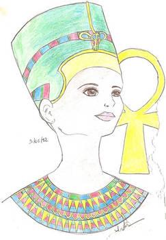 Nefertiti, Queen of Sun