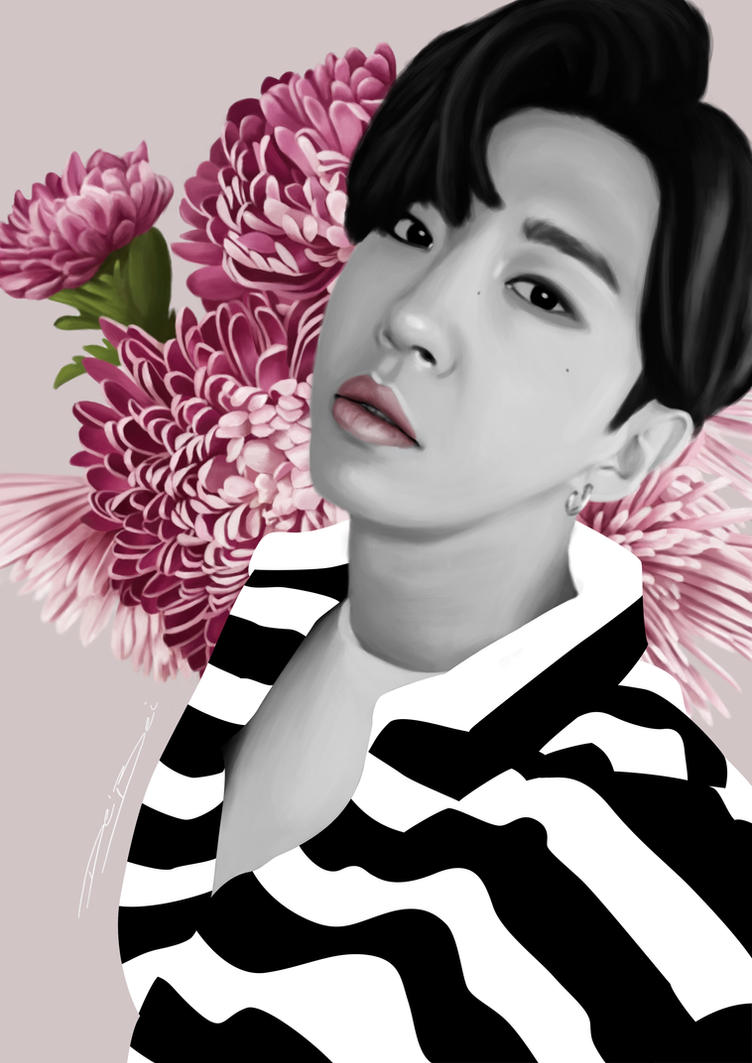 Yongguk flowers by heartsless