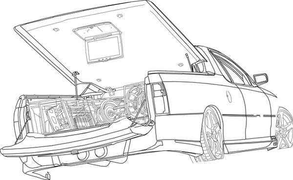 hsv maloo audio car by token