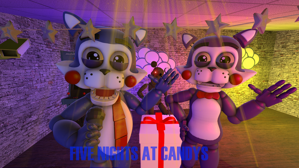 Five Nights At Candy'-s (Official) Cindy and Candy by TheSitciXD on ...