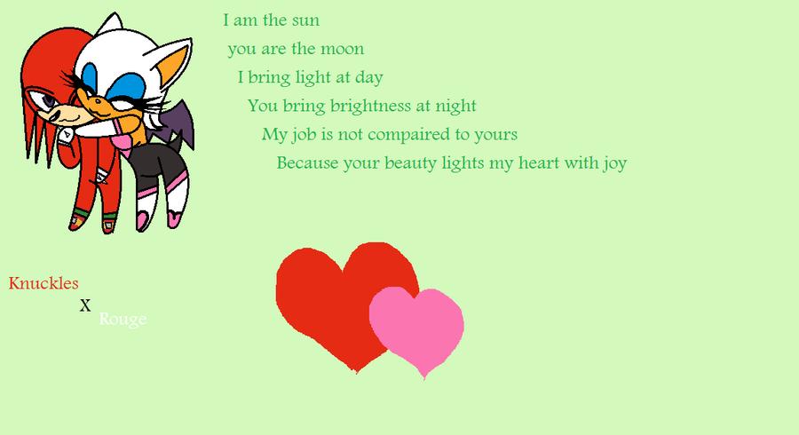 K x R love poem by eeveecupcakegirl