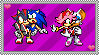 Sonadow and Amouge stamp