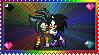 Battle x Shadowy stamp by eeveecupcakegirl