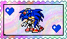 Destiny x Sonic stamp by eeveecupcakegirl