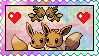 Eevee Love Stamp by eeveecupcakegirl