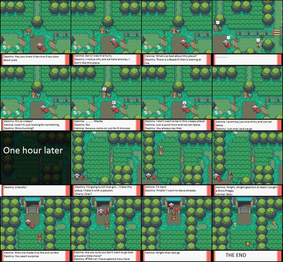 Shiny Pokemon Problems by eeveexriolu