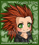 Kingdom Hearts- Axel