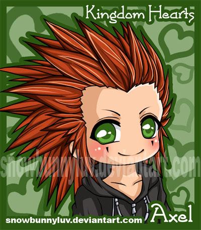 Kingdom Hearts- Axel by snowbunnyluv