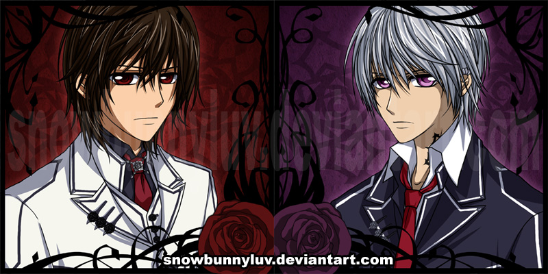 Vampire Knight - Kaname Zero by snowbunnyluvZero And Kaname Vampire Knight