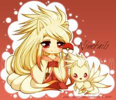 Pokemon - Gijinka Ninetails