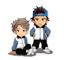 Shishido and Otori by snowbunnyluv