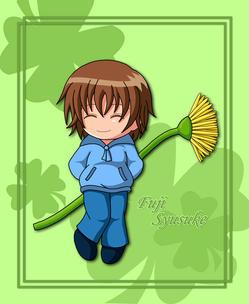 [تصویر:  fuji_with_flower_by_snowbunnyluv.jpg]