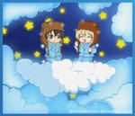 Cloud- KKM- Yuuri and Wolfram