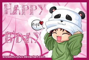 Happy Birthday by snowbunnyluv