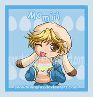 Happy Easter- Momiji by snowbunnyluv