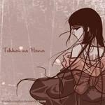 Original- Girl in kimono by snowbunnyluv