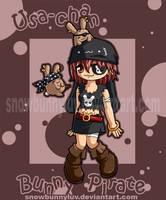 Original 04- Bunny Pirate by snowbunnyluv