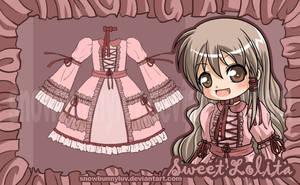 Sweet Lolita design by snowbunnyluv