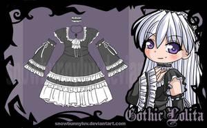 Gothic Lolita Design by snowbunnyluv