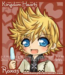 Kingdom Hearts- Roxas by snowbunnyluv