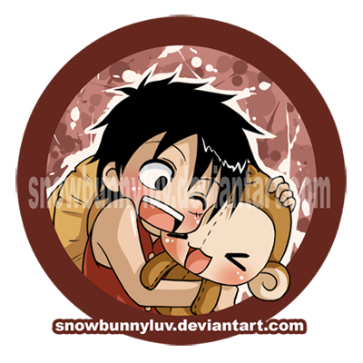 One Piece-I wuv my monkey by snowbunnyluv