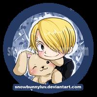 One Piece-I wuv my bunneh by snowbunnyluv
