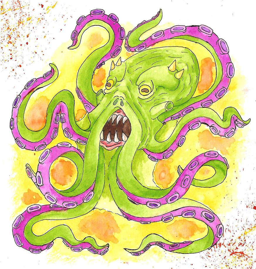 Octopus by NassuArt