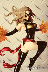 Ms Marvel by theredprincess