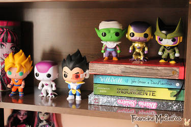 DBZ funko POP by theredprincess