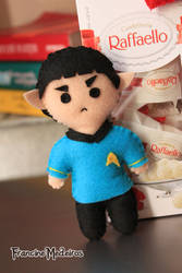 Spock Feltro by theredprincess