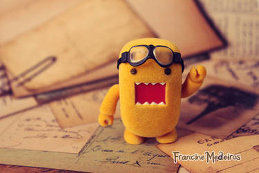 Domo amarelo by theredprincess