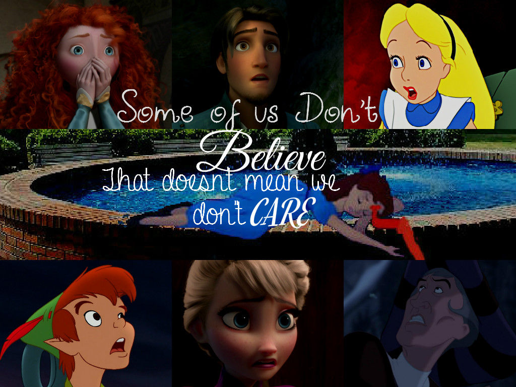 No One Believes.... by WDisneyRP-Wendy