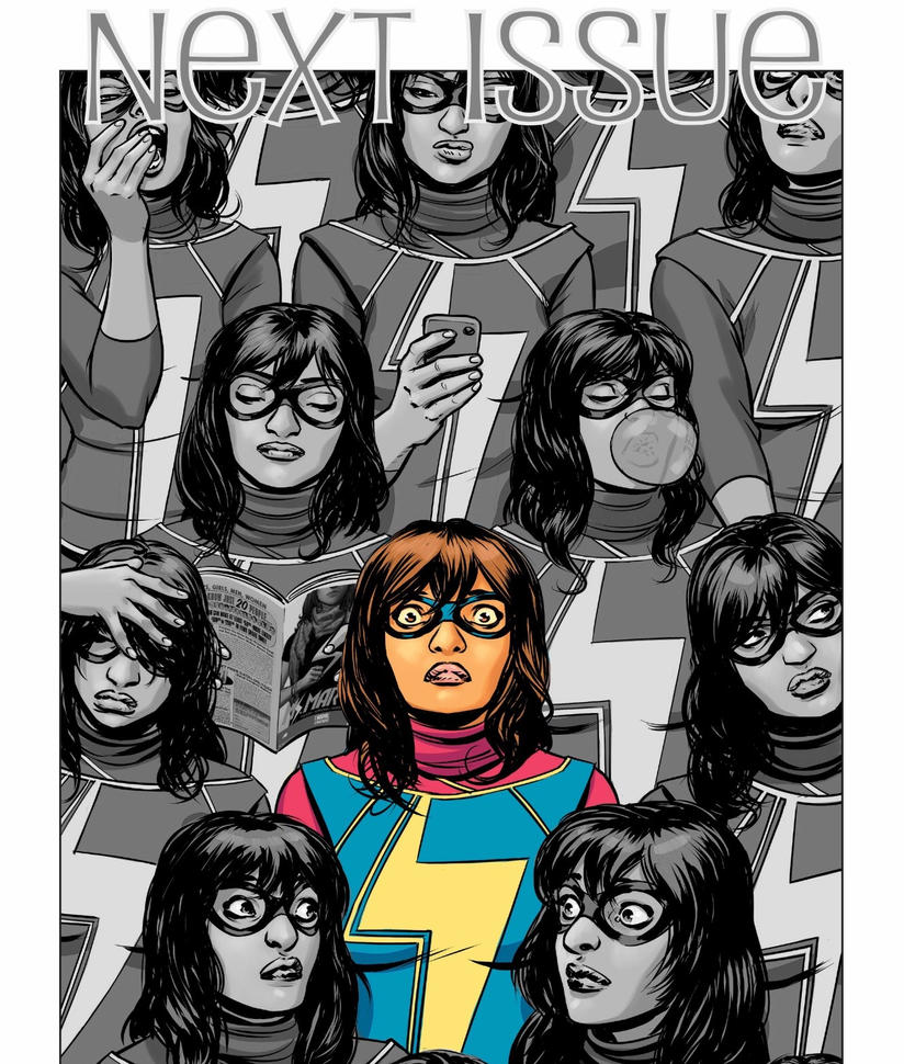 Ms. Marvel by downtonabbeyroad394
