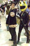 Izaya and Celty by Zeke-Fate