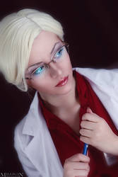 My name is dr.Quinzel. Harleen Quinzel. by YokoOmi