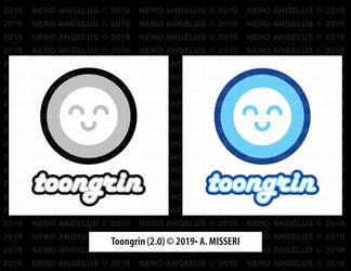 Logo - ToonGrin 2.0 by NeroAngelus